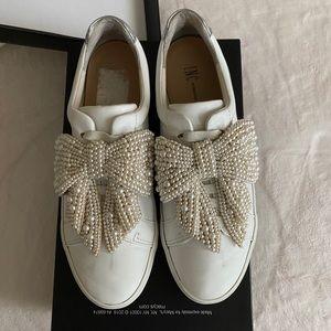 Inc Sanice Bow Sneakers | Poshmark